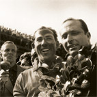 Sterling Moss after winning at Aintree